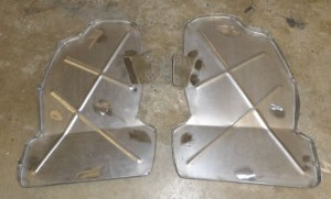 58-60 front fender splash shields