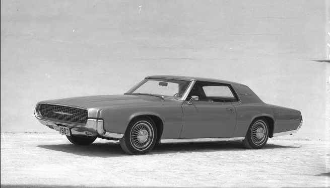 Photo Courtesy Of Ford Motor Company Thunderbird For 1967